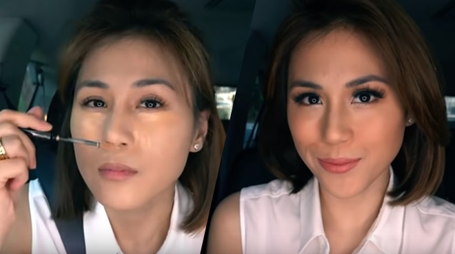 WATCH: Toni Gonzaga successfully does her makeup while inside a moving car