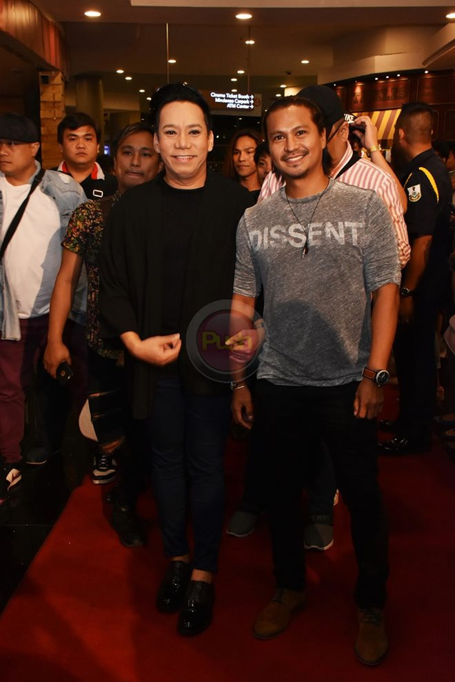 Here are the celebrities who went to see Teddy Corpuz's Papa Pogi movie.
