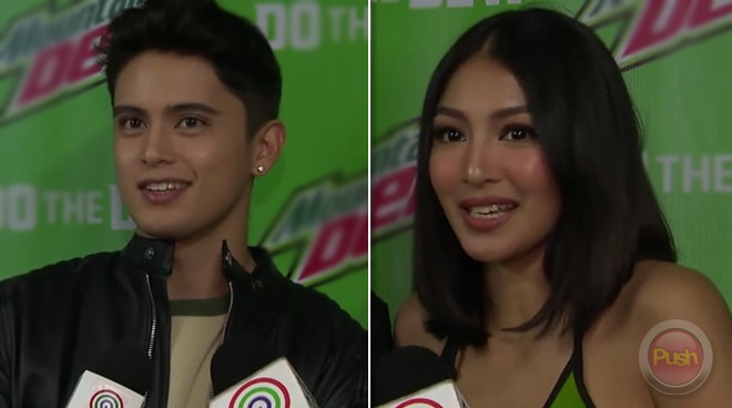 Nadine Lustre at James Reid, magkalaban sa isang eSports game