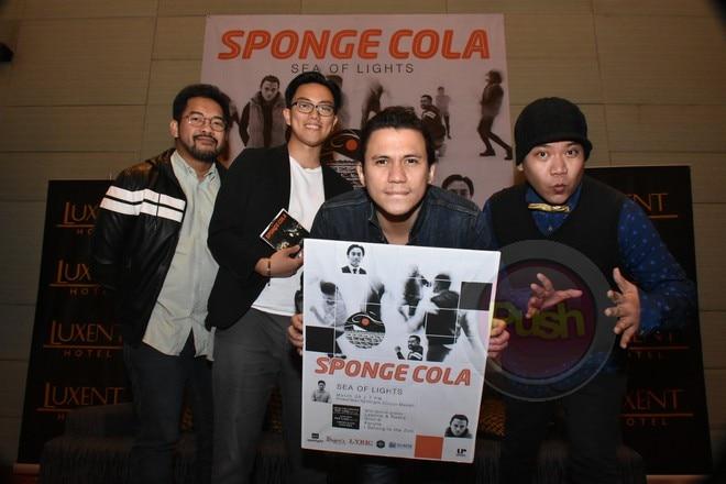 Spongecola's Sea of Light concert will be held on Powermac Spotlight Circuit Makati on March 29.