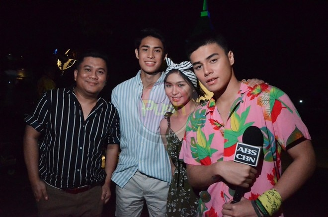 Loisa Andalio, Ronnie Alonte & Donny Pangilinan for James & Pat & Dave.