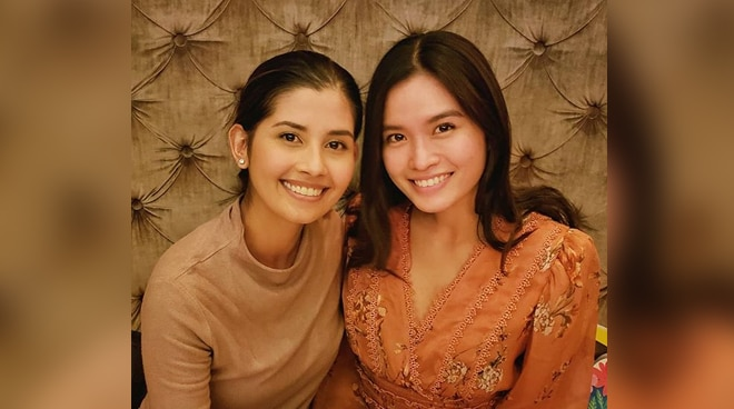 LOOK: Shamcey Supsup and Janine Tugonon reunite in the US