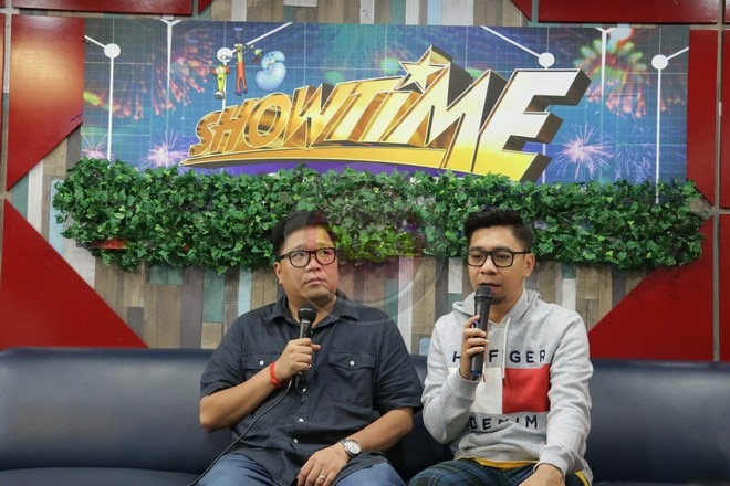 Jugs Jugueta and Teddy Corpuz to appear on It's Showtime Indonesia's pilot episode.
