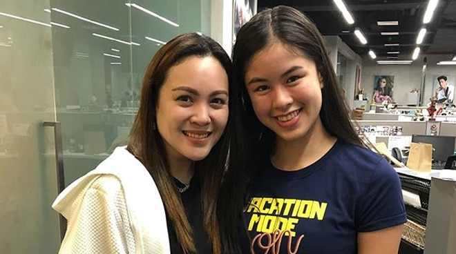 LOOK: Kisses Delavin poses for a photo with Claudine Barretto
