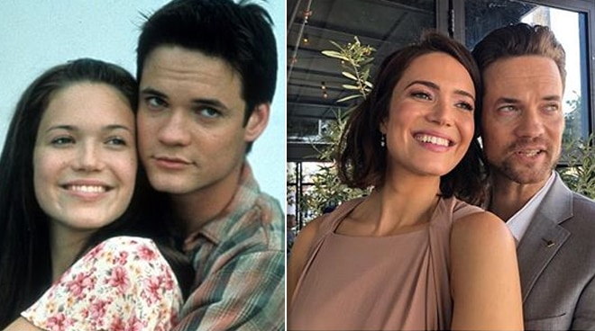 'A Walk to Remember' stars Mandy Moore and Shane West reunite for a special occasion