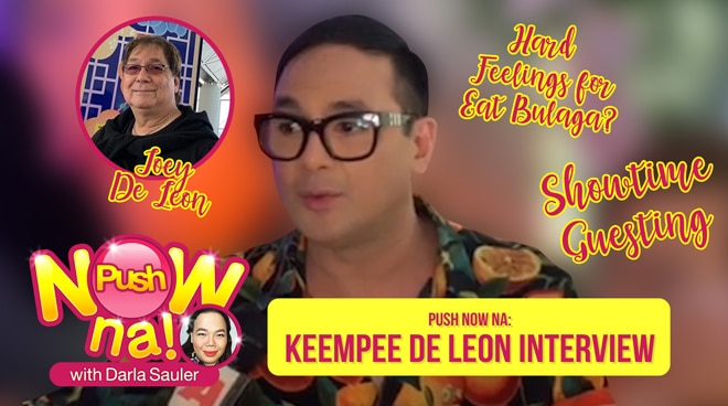 Push Now Na: Keempee de Leon talks about his TV guesting on It's Showtime