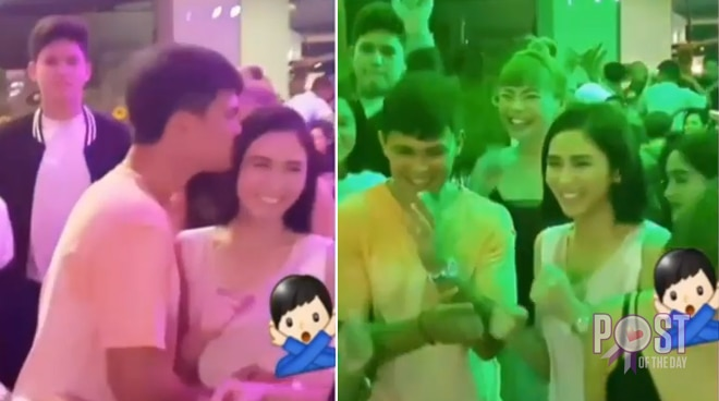 Sarah Geronimo joins Matteo Guidicelli's family as they celebrate his birthday