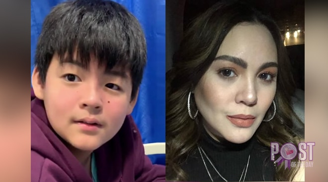 Claudine Barretto's son hospitalized due to urticaria