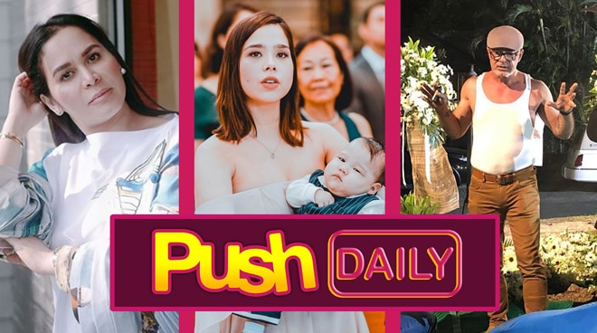 Push Daily Top 3: Jinkee Pacquiao, Saab Magalona and Michael de Mesa