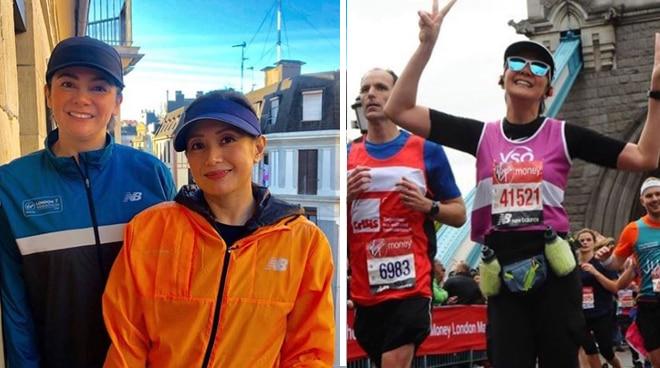 Charlene Gonzales successfully finishes London Marathon 2019