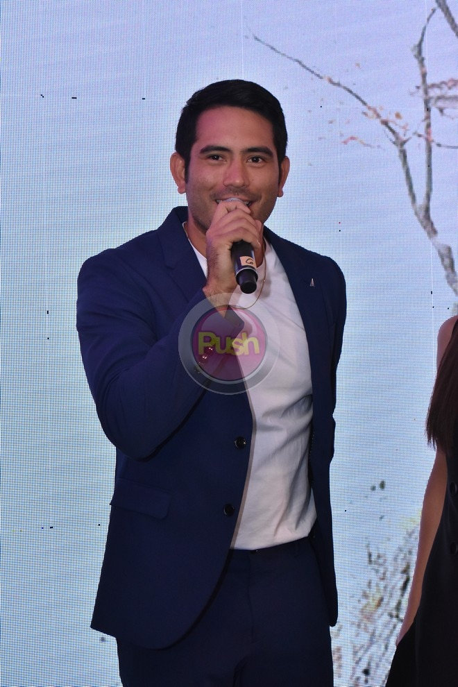 Julia Barretto and Gerald Anderson for the new movie Between Maybes.
