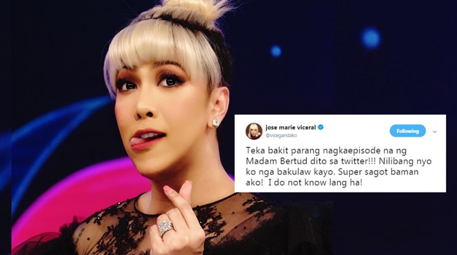Vice Ganda answers questions about lost love from netizens
