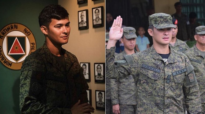 Matteo Guidicelli shares his experience as an army reservist