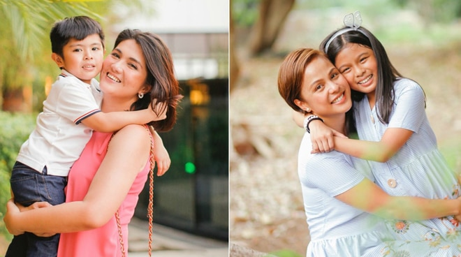 SEE: Dimples Romana, Nikki Valdez cozy up with children in special Mother's Day shoot