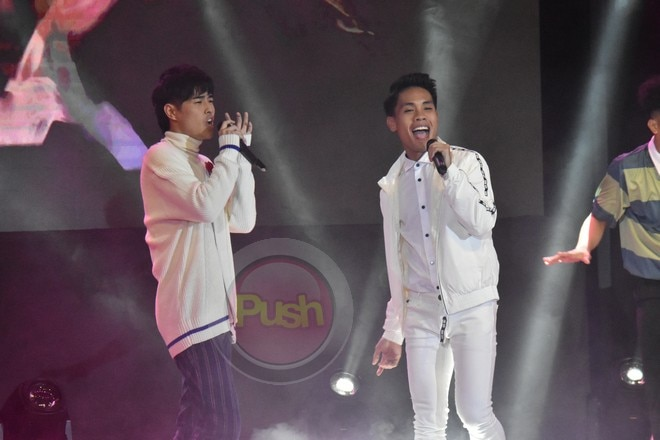 The grand album launch was led by the teen and adult Big 4
