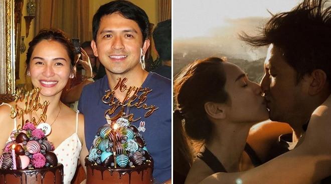 LOOK: Dennis Trillo and Jennylyn Mercado's joint birthday celebration