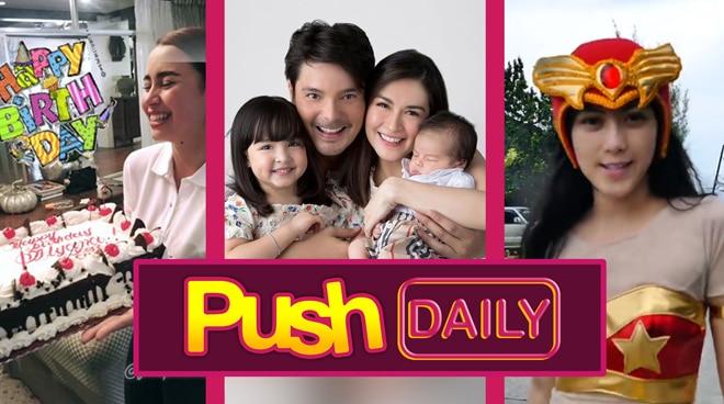#PushDaily Top 3: Yassi Pressman, Dingdong Dantes, Marian Rivera and Alex Gonzaga