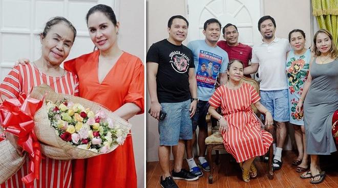Dionisia Pacquiao celebrates 70th birthday