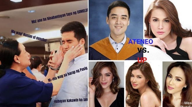 'Four Sisters and A Wedding' meme features Vico Sotto as 'Mama's new favorite'