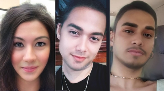 LOOK: Celebrities transform via gender swap filter