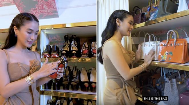 Wow! Heart Evangelista reveals what's inside her glamorous closet