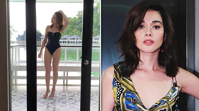 LOOK: Bea Alonzo shows off fit physique in Palawan
