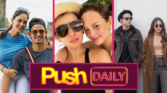 #PushDaily Top 3: Jason Abalos, Beauty Gonzalez, Ellen Adarna, Daniel Padilla and Kathryn Bernardo