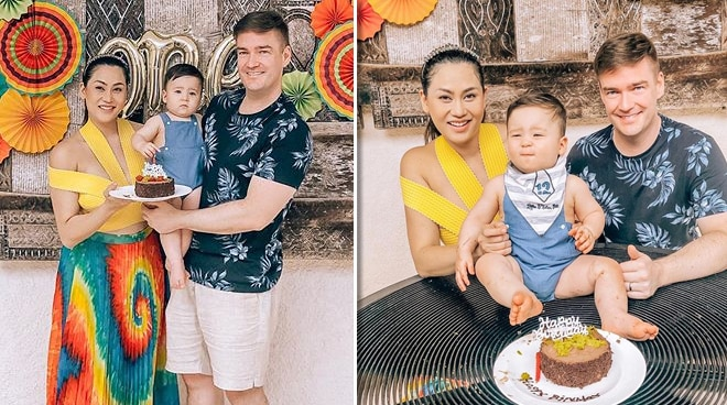 Cristalle Belo's son turns one