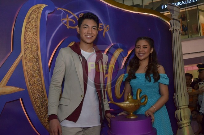 Darren Espanto and Morissette make Pinoys proud as they perform Aladdin's theme song.