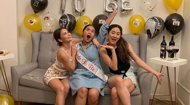 Elisse Joson, Jinri Park throw surprise party for bride-to-be DJ Chacha