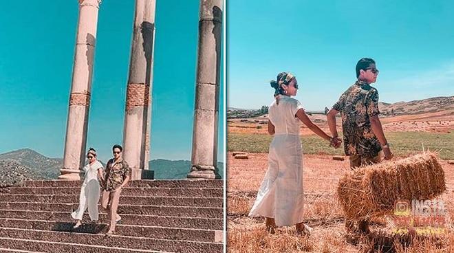 Kathryn Bernardo and Daniel Padilla enjoy some quality time in Morocco
