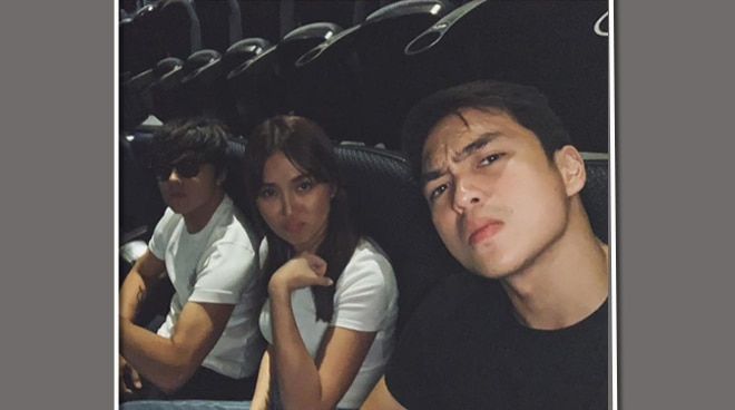 LOOK: Another KathNiel date with their 'third wheel'