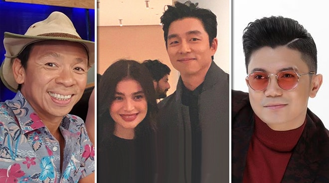 Kim Atienza and Vhong Navarro react to Anne Curtis meeting Gong Yoo