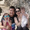 The Dantes family enjoyed the long weekend on the beautiful island of Panglao.