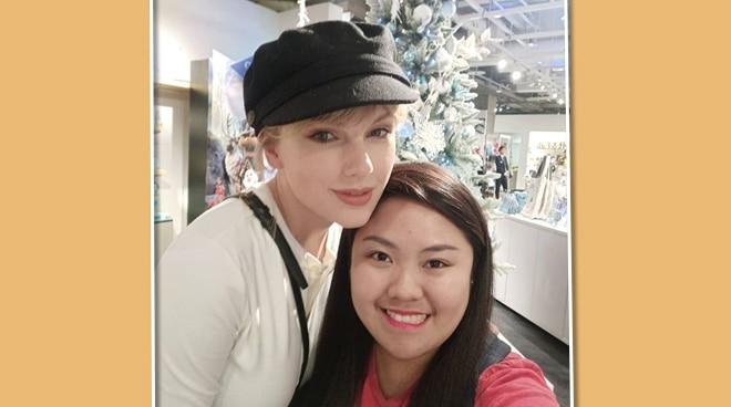 Pinay fan meets Taylor Swift in Japan