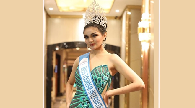 Pinay beauty queen, wagi sa Miss Tourism International