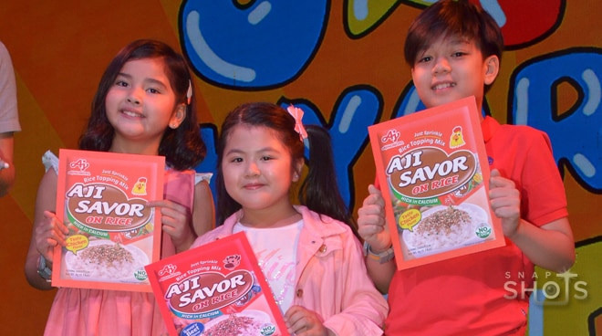 Celebrity kids shares love for food in new endorsement