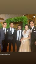 Model-actor Victor Basa recently tied the knot with his longtime girlfriend Stephanie Dan.
