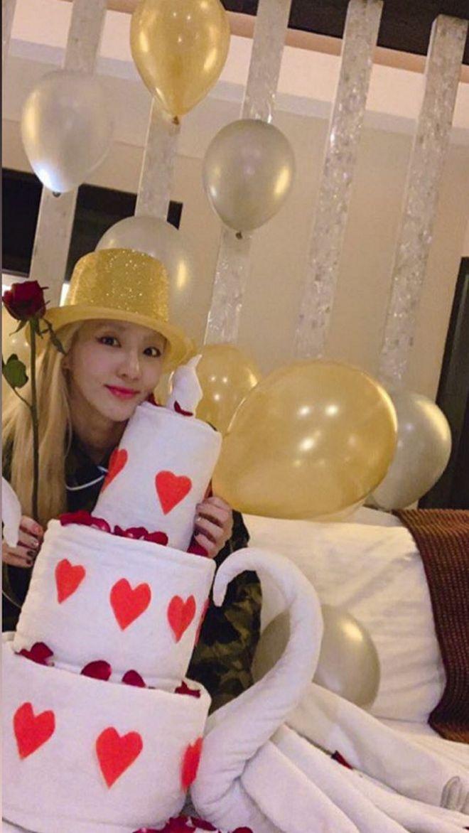 Sandara Park chose Bohol as the place to celebrate her 34th birthday.