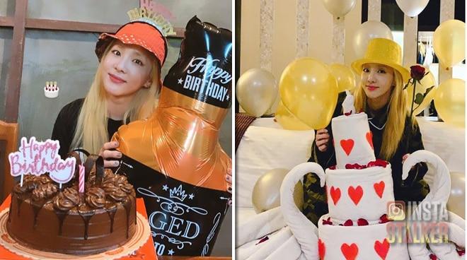 Sandara Park celebrates her 34th birthday in Bohol