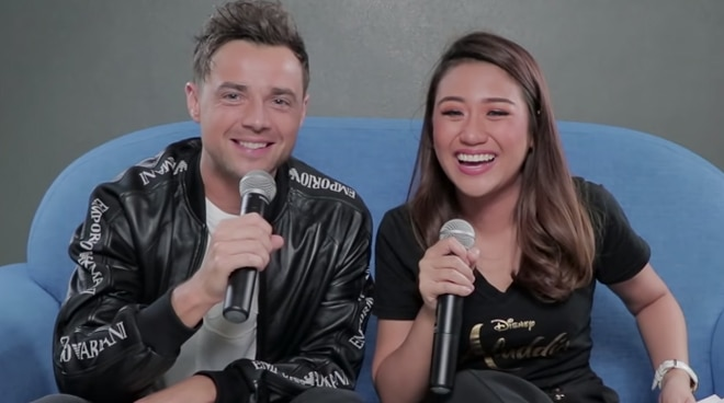 Morissette Amon teaches Ben Adams Bisaya words