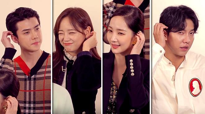 South Korean actors do the 'Dalagang Pilipina' challenge