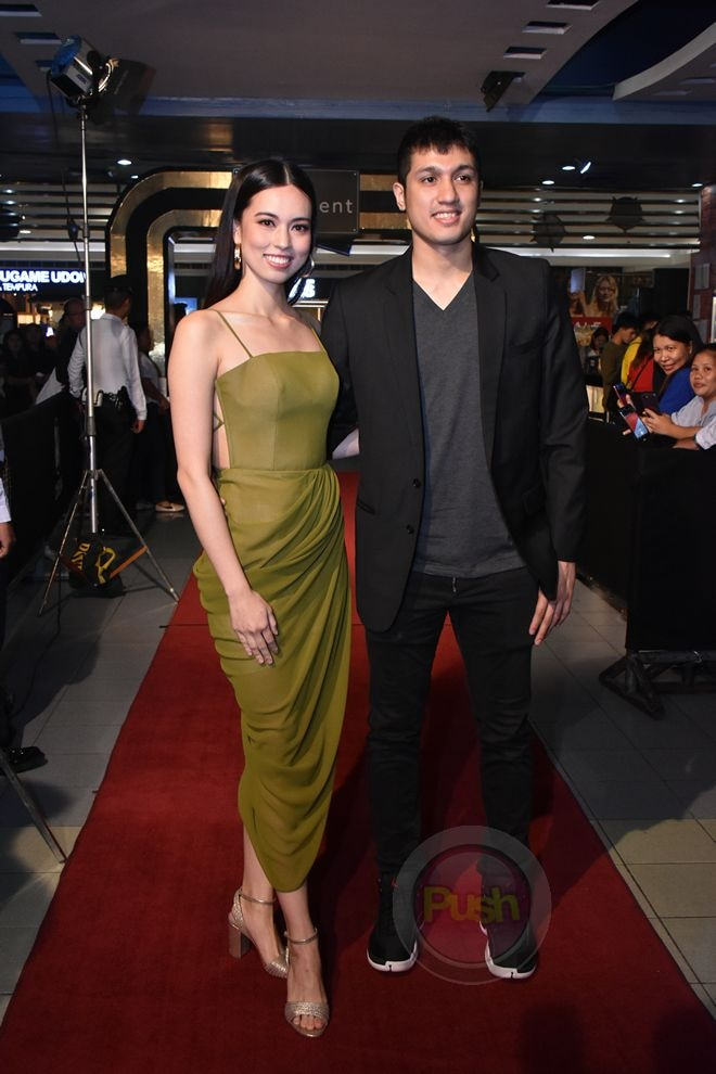 Check out the celebrities who went to the premiere of the movie that is now showing in local cinemas