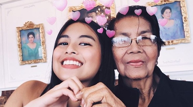 Gabbi Garcia's grandmother passes away