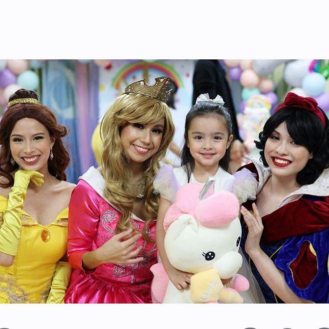 Zia Dantes had a celebration fit for a princess last November 19.