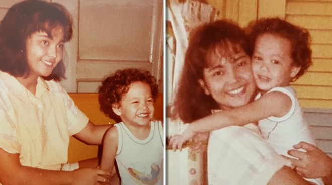 LOOK: Throwback photo of young Paolo Ballesteros with aunt Eula Valdez