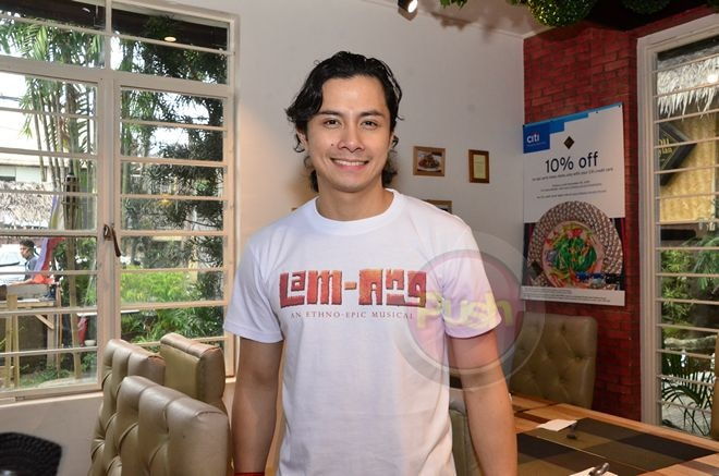 JC Santos to star as the hero 'Lam-Ang' in an ethno-epic musical at the CCP Little Theater.