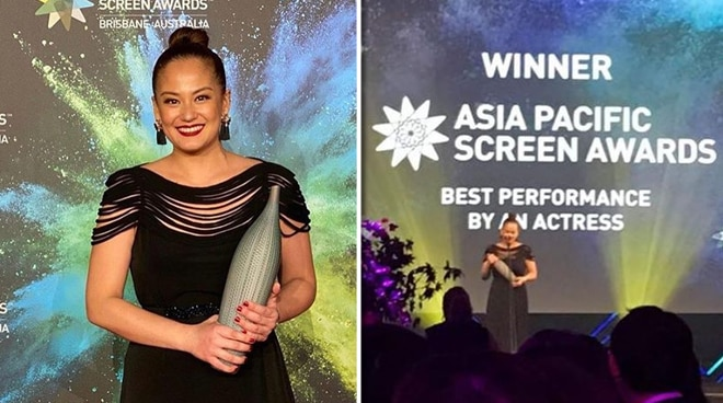 Max Eigenmann, best actress sa 2019 Asia Pacific Screen Awards