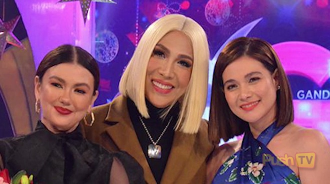 Angelica at Bea, nakisaya sa Gandang Gabi Vice | Push TV