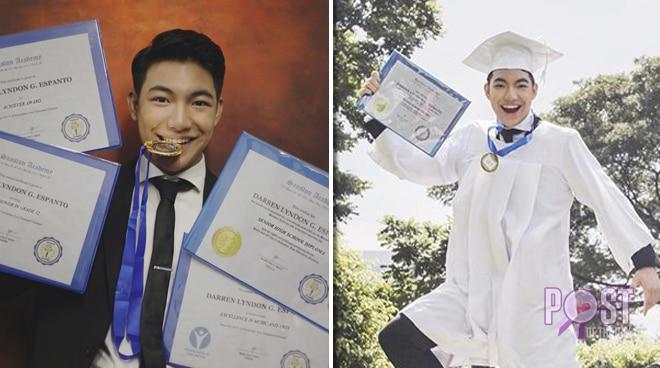 Darren Espanto is now a senior high school graduate: 'Hard work pays off'